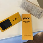 Loving @Neilyoung's new music player Pono. It REALLY sounds better than any other digital music service. Warmer. http://t.co/1x1BzSnqYw
