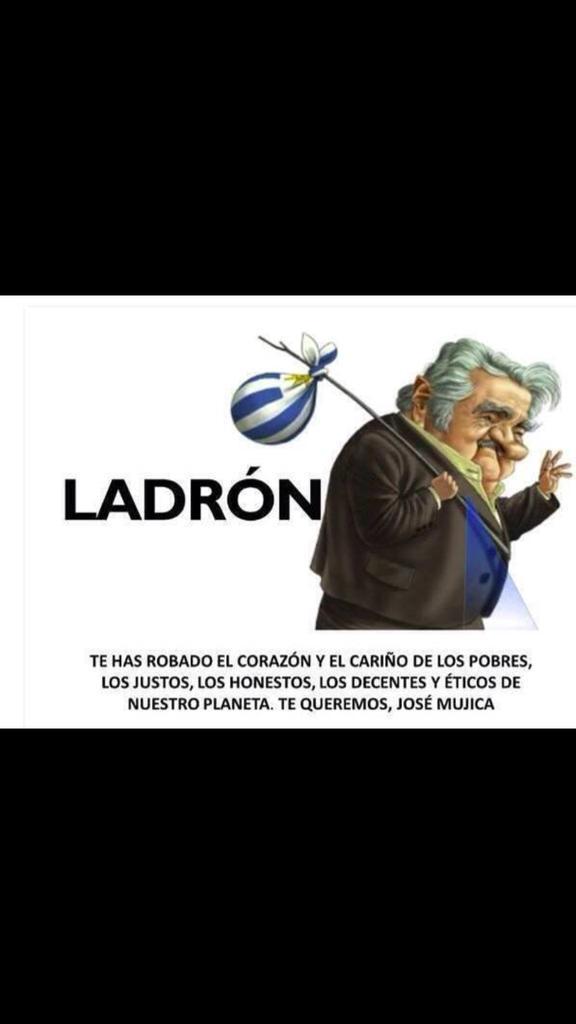 Uruguay: así despiden a un Presidente. http://t.co/S14oOZCpY1