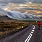 Road to Nowhere, Iceland Photo by Wim Denijs http://t.co/44a2gBxvDO #photography