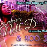 #Tonight #100DollarPoetrySlam host @mistafunn feat. @OMTVOPENMICTV /@MarleesCoffee 349 Decatur St #ATLANTA http://t.co/6zWFZf7s8v