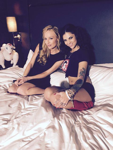 Evil Angel (@EvilAngelVideo): #EvilAngel #AEExpo Don't you wish you could join @Kayden_Kross and @thebonnierotten