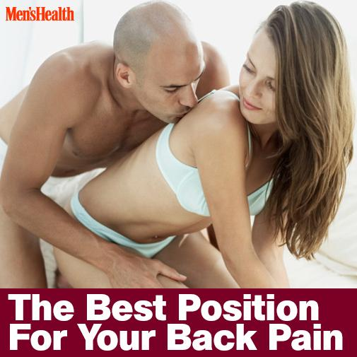 Best sex positions for hurt backs
