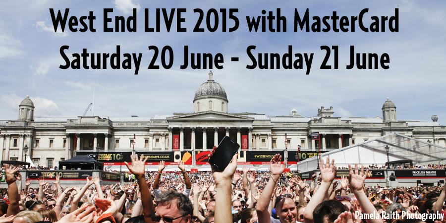 SAVE THE DATE! #WestEndLIVE 2015 with @MasterCardUK will take place on Sat 20 & Sun 21 June! RT if you'll be there! http://t.co/qbBs3IaFJ3