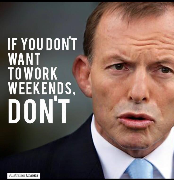 I double checked, he actually said this. I wonder what our nurses, cops, Ambos and fires fighters are thinking? http://t.co/vb5OfVL1KL
