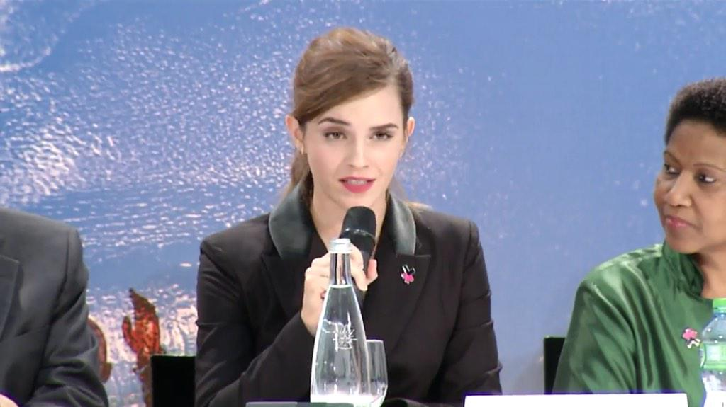 It is my belief that women need to be equal participants...world is held back bc they are not #heforshe @EmWatson l http://t.co/uLrGtuOnOq