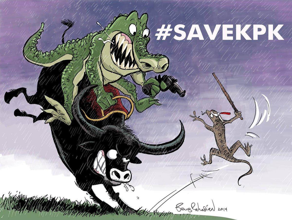 Kartun #SaveKPK dari mas @bengrahadian http://t.co/xKtLdB4g3O