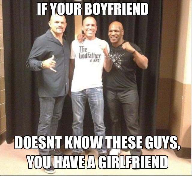 """Haha I like this one """"@CrusherMMA: All the girls on a note! @ChuckLiddell @realroyce @MikeTyson http://t.co/WGg9bZfBXI"""""""