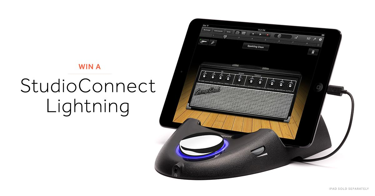 #Win a StudioConnect Lightning! To enter, follow @GriffinTech and RT. We'll announce our winner at 5pm CST today! http://t.co/mjNgccnWw8