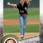 RT @NBCSN: .@McKaylaMaroney, @runmeb get Topps baseball cards http://t.co/mXkcGCEci2
