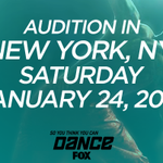 WOO-HOO! xoP RT @danceonfox: #SYTYCD auditions kickoff TOMORROW in NYC! Detailed audition info http://t.co/yACmhsH4aA