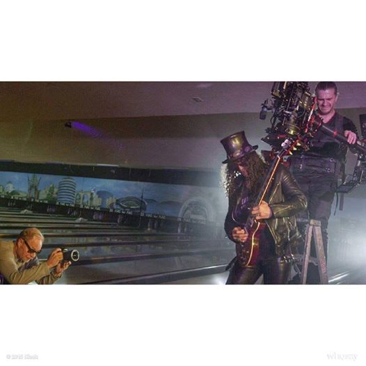 "Here is Thor Wixom (Director of Photography on ""The Freemason"")  I was born in the early 80's so I had to post this. http://t.co/aOyuQ7Z3Kp"