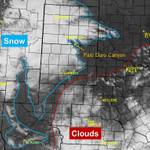 Heres a satellite view of the heavier snow across TX (compared to the topographic map). #txwx http://t.co/sXU3SZfo7o