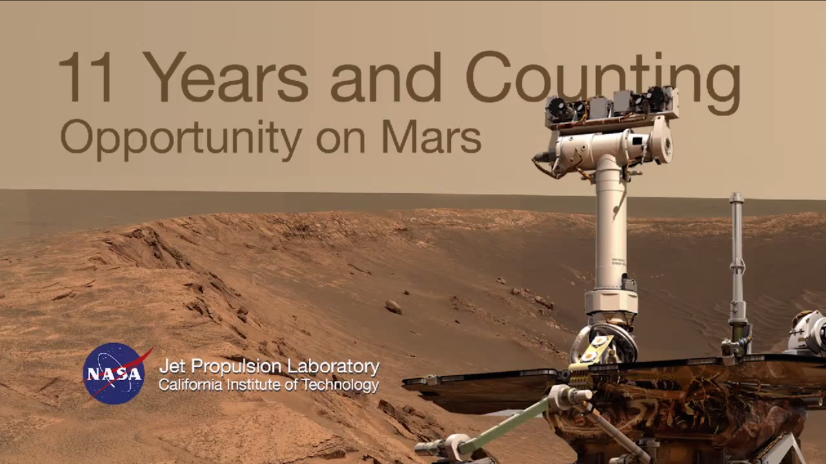 11 Years and Counting: See the Opportunity rover's accomplishments so far on Mars http://t.co/gW7Ydq8etE http://t.co/hxv5ERENTX