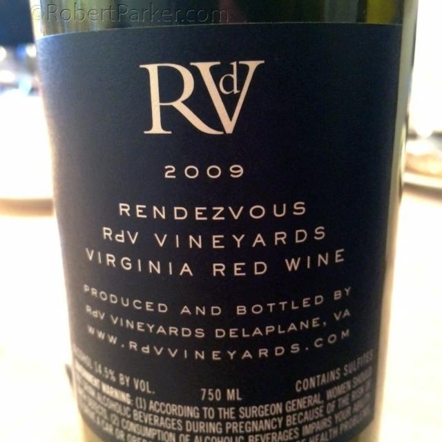 Remarkable #Virginia #wine-Cabernet blend-complex, velvety and world-class. A revelation. http://t.co/YsSlRsimYL