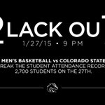 #BoiseState students, we need you on Tuesday, Jan. 27.  Go Broncos! @CorralBoise http://t.co/BJwl5fFOqx