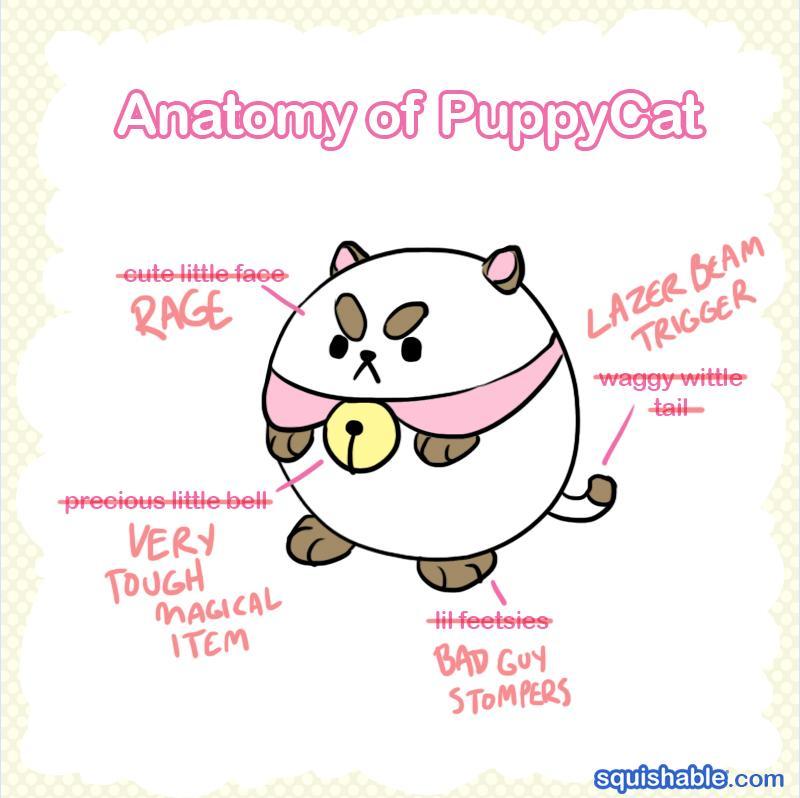 Puppycat anatomy! From @cartoonhangover's Bee&Puppycat! http://t.co/abNagDM7CX http://t.co/UerqS1lEOP
