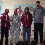 Special thanks to @MarvinMenzies #NMSU Basketball players for talking to our students about leadership ???? http://t.co/LLQqI2lRAU