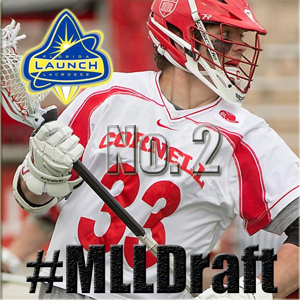 The Florida Launch select Connor Buczek 2nd in the #MLLDraft! He's Cornell's highest pick since @RobPannell3 in 2012! http://t.co/gAIS5tFxbL