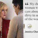 Jessica Chastain talks to @armani about costumes and her character in 'A Most Violent Year' http://t.co/Np4npbyd61