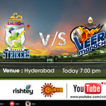 RT @ccl: @veermarathi play against the @keralastrikers today! Watch the match from 7.00 p.m. onwards on @rishteytv #SuryaTV http://t.co/AUT…