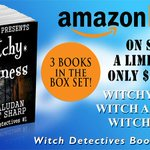 SALE $3.99 #BOXSET #WITCH DETECTIVES bks 1,2,3 #SCOTLAND #UK #witches @EvePaludan #StuartSharp http://t.co/M3Yd8SUyDC http://t.co/nHJgJ4zieq