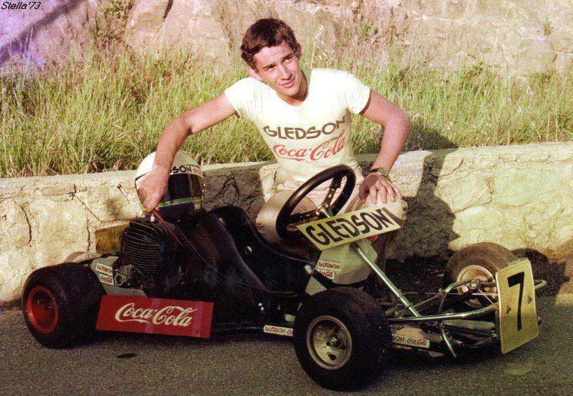 "RT @AutoSportsArt Ayrton Senna ~ 1977 http://t.co/MpWQBTU28K"" #karting #senna"