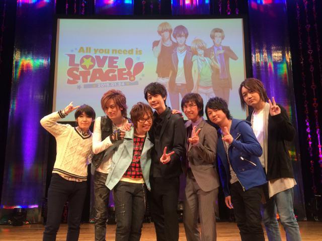 『LOVE  STAGE!!』イベント終了後に皆んなで写真を撮ってもらいました♪───O(≧∇≦)O────♪本当に楽し