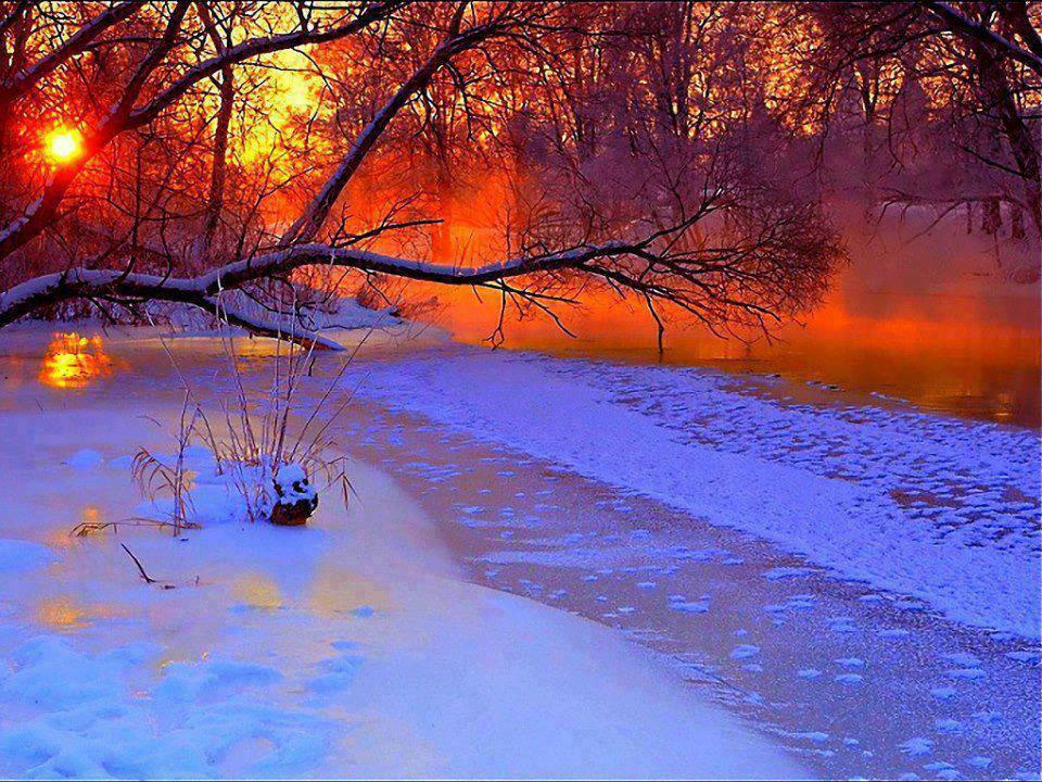 "Beautiful sunset☆ ""@danchantall9: Sunset, winter - #sunset #winter http://t.co/saHvnYBwio"""