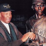 We mourn the loss of former KC Monarch and Mr. Cub Ernie Banks today. Take good care of him Buck! #LetsPlayTwo http://t.co/FBaVM8Q51w