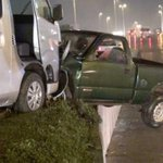 Accidente entre dos camionetas deja como saldo un prensado en Ruiz Cortines http://t.co/rXv06T9VDQ http://t.co/JmKsamuPa4