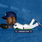 Yesterday's #RoyalsTweetPeek revealed Lorenzo Cain will be repped in bobblehead form on 6/6 courtesy of Farmland. http://t.co/wYCrLqEUcj