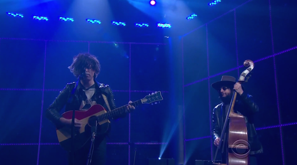 """Watch @TheRyanAdams perform a somber version of """"Gimme Something Good"""" on The Late Late Show http://t.co/hxEI8pqvSW http://t.co/a6CZqmJ6u7"""