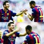 La dupla Messi-Neymar en la temporada 2014/15: ✓49 goles. ✓15 asistencias. Haters gonna hate... http://t.co/fPiSSVSWQd