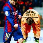 FINAAAAAL!!! Con doblete de Messi y Neymar el Barça golea al Elche de visita. Elche 0-6 Barcelona #LigaBBVA http://t.co/eOueHE4lCB