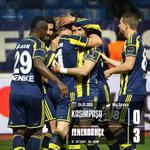 Maç Sonucu | Kasımpaşa 0-3 Fenerbahçe. Tebrikler #Fenerbahçe! #LiderFenerbahçe http://t.co/FwfSxoINl2