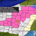 #WEATHER ALERT: Freezing Rain & Winter Weather advisories issued. Details, latest forecast: http://t.co/SiWEFWT2r4 http://t.co/VeMbcEFrW0
