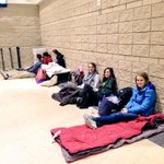 Students are already lining up for #PITTvsLOUISVILLE! @HailToPittHoops @OaklandZoo #H2P #GoldOut http://t.co/xK8xiiAWPF