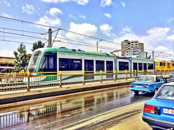 Addis Ababa has finished it's Urban Train System while Nairobi struggles with traffic http://t.co/ekaydmzrz8