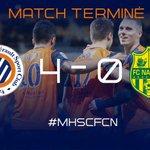 #MHSCFCN Min.90+3 Cest fini sur cette très belle victoire !!! #MHSC 4 - 0 #FCN http://t.co/6OslsyRdB9