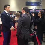 Doing the whole interview thing and lovin the red carpet. http://t.co/s4F8MKn2hl