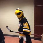 Iceburgh is ready for the Mascot Game #NHLAllStar http://t.co/OgG1M3xLZG