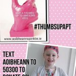 Please RT 💞 my daughter is fighting cancer, please help families with children with cancer in Ireland #thumbsupAPT  💞 http://t.co/dlZH0VhfUA