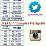 Jasa Tambah Followers Twitter & Instagram Spesial #Tebakan #SaveKPK Tedjo KPK vs POLRI #LazioMilan #FACup http://t.co/BcxUbIMDXT