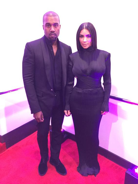 Our #BETHONORS visionary honoree @kanyewest with @KimKardashian. Congratulations. http://t.co/dxksUxSUjU