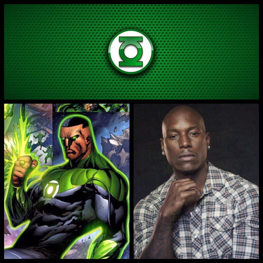 There is no better man then @Tyrese to be the next #GreenLantern #JusticeLeague #Member RT... http://t.co/ZWTBMxU1cU