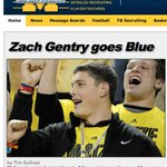 BREAKING: Zach Gentry commits to Michigan - Read more at https://t.co/vrXqdr1A9l @rivalsmike @Rivals http://t.co/0zG2MnATf6