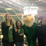 Supporting @MeanGreenSports with my @UNTELITE students and Scrappy! #GoMeanGreen http://t.co/ZUSbuaSjIj
