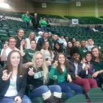 Track & Field out supporting Mens Basketball at the SUPER PIT! #GMG http://t.co/7xiqlBVDO6