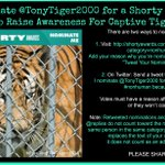 .Please Nominate @TonyTiger2000 in Non-human http://t.co/SLmT4Nt2zl for the Shortys See here: http://t.co/MuWvoe5r9p Help Tony win! RT