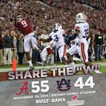 Somebody get the broom #OurState #RollTide http://t.co/Chi8VwYmf2